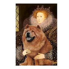 Queen Elizabeth I & Chow Chow Postcards (Package o