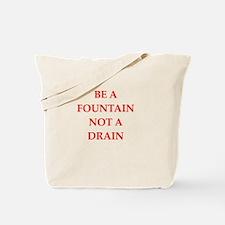 fountain Tote Bag