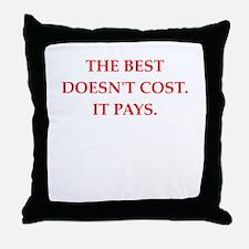 quality Throw Pillow