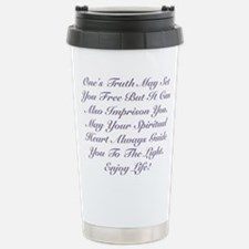 Spiritual Heart Enjoy Life! Travel Mug
