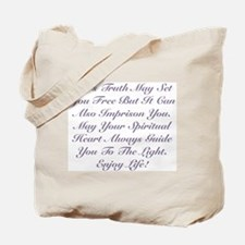 Spiritual Heart Enjoy Life! Tote Bag