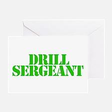 Drill sergeant Greeting Card