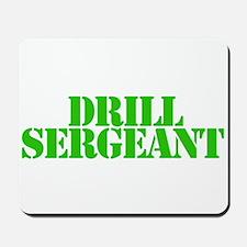Drill sergeant Mousepad