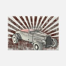 Ford Hot Rod Rectangle Magnet