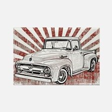 1956 Ford Truck Rectangle Magnet