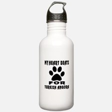 My Heart Beats For Tur Sports Water Bottle