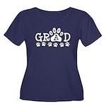 GRAD 2016 Paws Plus Size T-Shirt