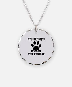 My Heart Beats For Toyger Ca Necklace