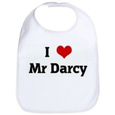 I Love Mr Darcy Bib