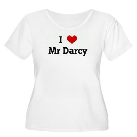 I Love Mr Darcy Women's Plus Size Scoop Neck T-Shi