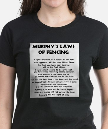 Murphy's Law - Ash Grey T-Shirt