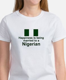 Nigerian-Married Women's T-Shirt