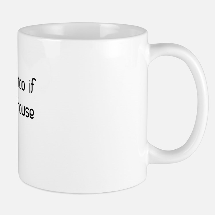 housesisblack Mugs