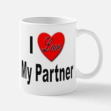 I Love My Partner Mug