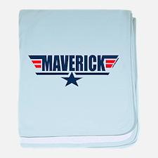 Unique Maverick baby blanket