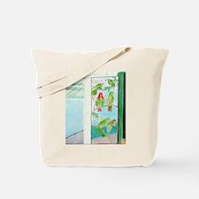 KEY WEST'S GREEN PARROT BAR D Tote Bag
