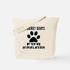 My Heart Beats For Himalayan Cat Tote Bag
