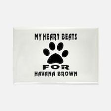 My Heart Beats For Havana Brown C Rectangle Magnet