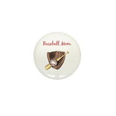 Baseball Mom Mini Button (100 pack)