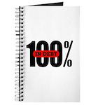 100 Percent In Debt Journal
