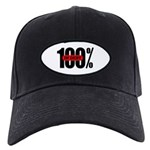 100 Percent In Debt Black Cap