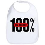 100 Percent In Debt Bib