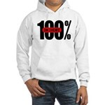 100 Percent In Debt Hooded Sweatshirt