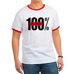 100 Percent In Debt Ringer T