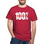 100 Percent In Debt T-Shirt Dark Colored