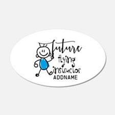 Future Flying Instructor Per Wall Decal