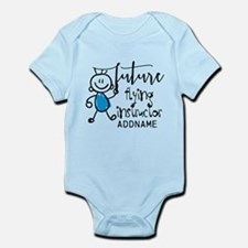 Future Flying Instructor Personali Infant Bodysuit