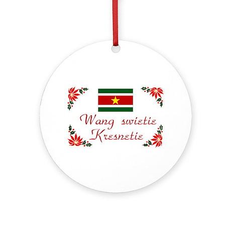 Suriname-Wang... Keepsake Ornament