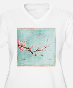 Live life in full bloom Plus Size T-Shirt