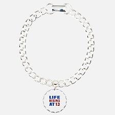 Life Begins At 13 Bracelet