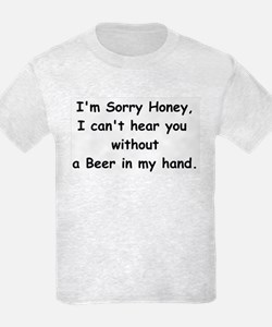 deaf without beer T-Shirt