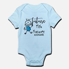 Future Fish Farmer Personalized Infant Bodysuit