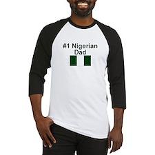 Nigerian #1 Dad Baseball Jersey