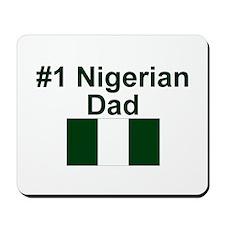 Nigerian #1 Dad Mousepad