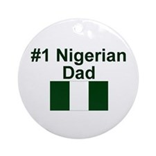 Nigerian #1 Dad Keepsake Ornament