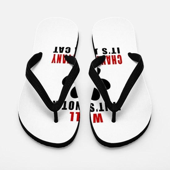 If It's Not Chantilly Tiffany Flip Flops