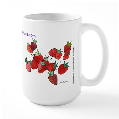 Large Mug (Strawberries)