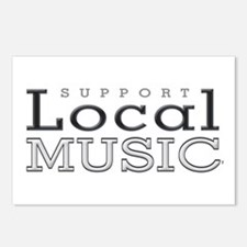 Support Local Music Postcards (Package of 8)
