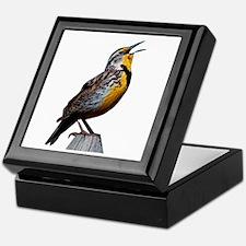Western Meadowlark Keepsake Box