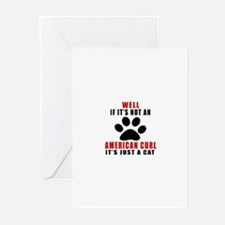 If It's Not American Cur Greeting Cards (Pk of 20)