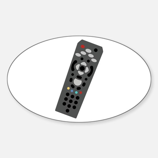 TV Remote Decal