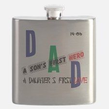 Cute Good fathers day Flask