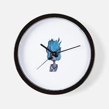 Cute Orbital Wall Clock