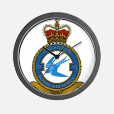 British Royal Air force Squadron 72 Wall Clock