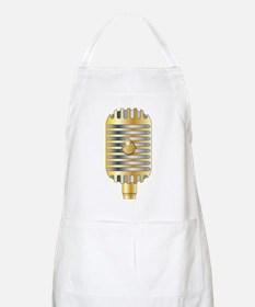 Golden Microphone Apron