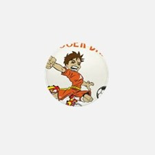 SOCCER DAD BRUNETTE ORANGE.png Mini Button
